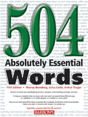 504-Absolutely-Essential-Words-Bromberg-Murray-9780764128158